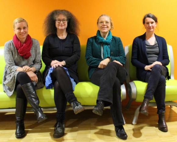 Elisabeth Scharfenberg, Mdb; Dr. Elke Tießler-Marenda; Doris Wagner, MdB; Michaela Evans