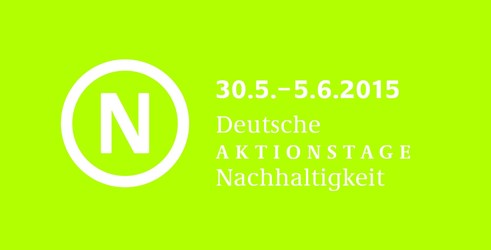 150324 Dt. Aktionstage Nachhaltigkeit