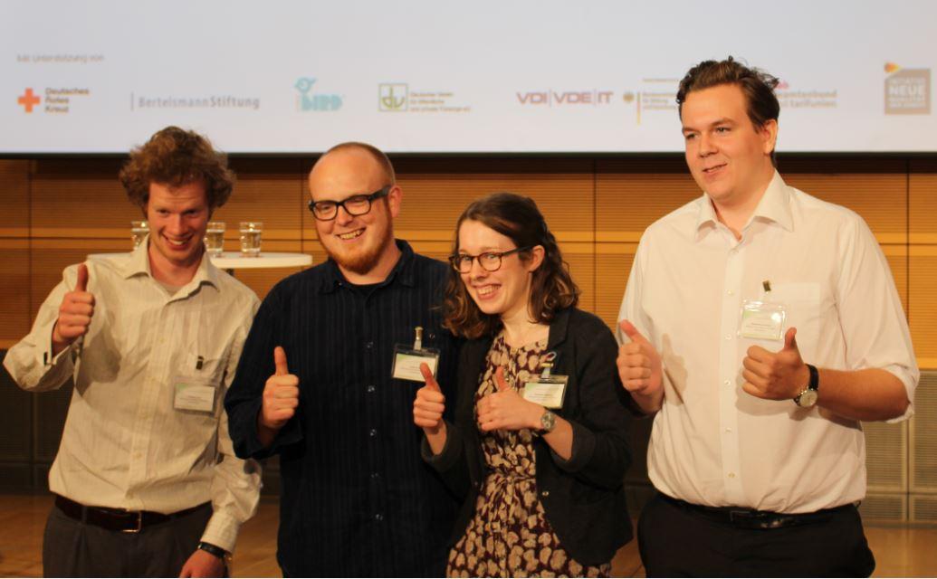 150908 Demografiepreis Preisträger SRzG Berlin Wahlbeteiligung junger Menschen