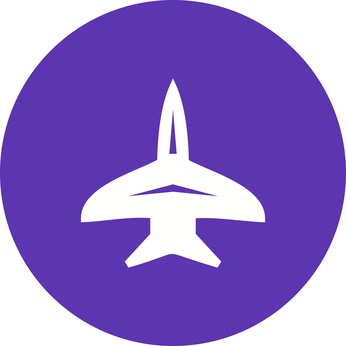 Fighter, jet, f-16 icon vector image. Can also be used for military. Suitable for use on web apps, mobile apps and print media.