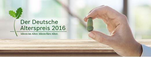 16. März 2016 – Vielfältig Wohnen! Ausschreibung des Alterspreises