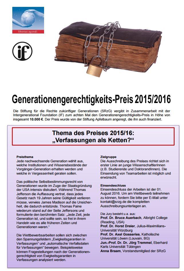 160413 Plakat Generationengrechtigkeitspreis SRzG
