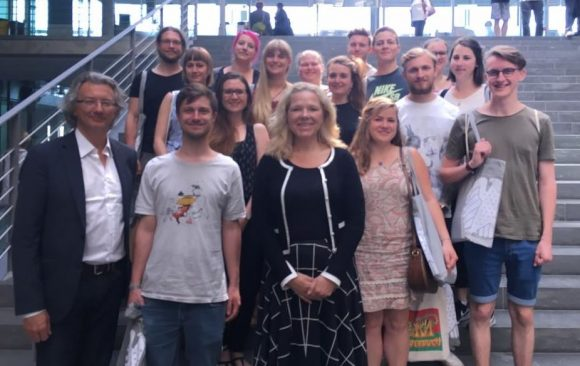 Münchner Studierende auf Berlin Besuch