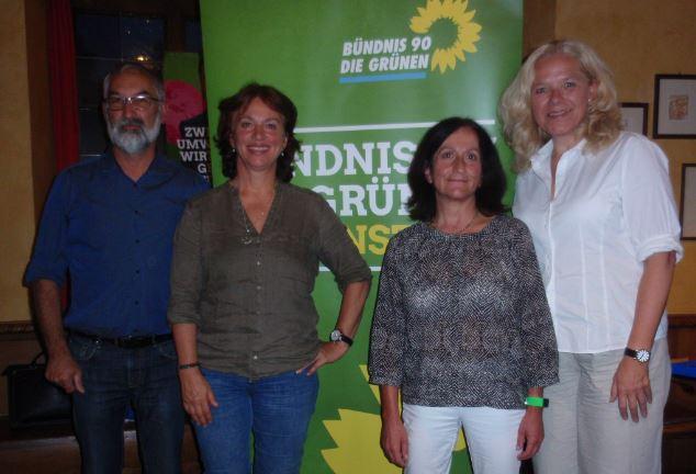 Traunstein: Grüne Sicherheitspolitik in unsicheren Zeiten