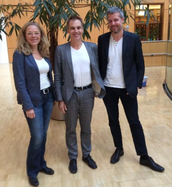 AG Demografie Wachstum und Wohlstand_Doris Wagner mit Gerhard Schick und Dieter Janecek