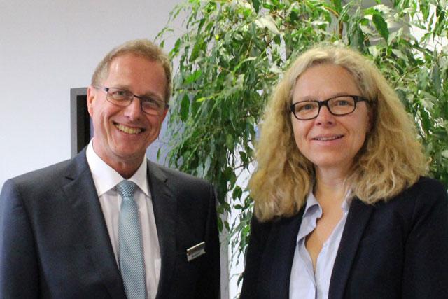 Harald Neubauer und Doris Wagner