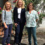 Doris mit Karin und Marlis