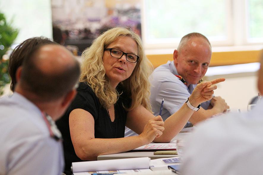 Doris Wagner, MdB, besucht am 13. Juli das Zentrum für Innere Führung der Bundeswehr in Koblenz