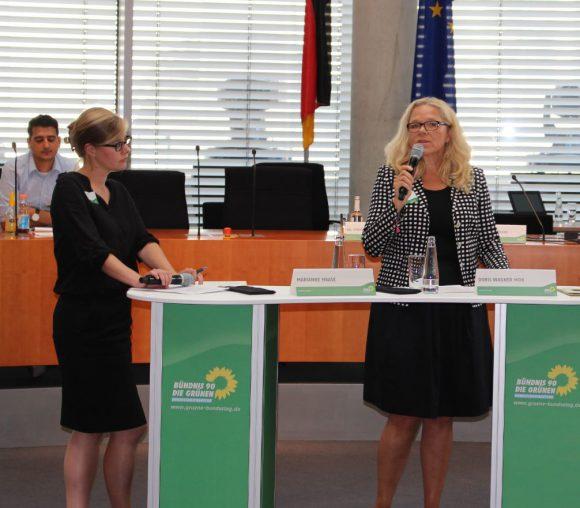 Marianne Haase (GIZ) im Gespräch mit Doris Wagner