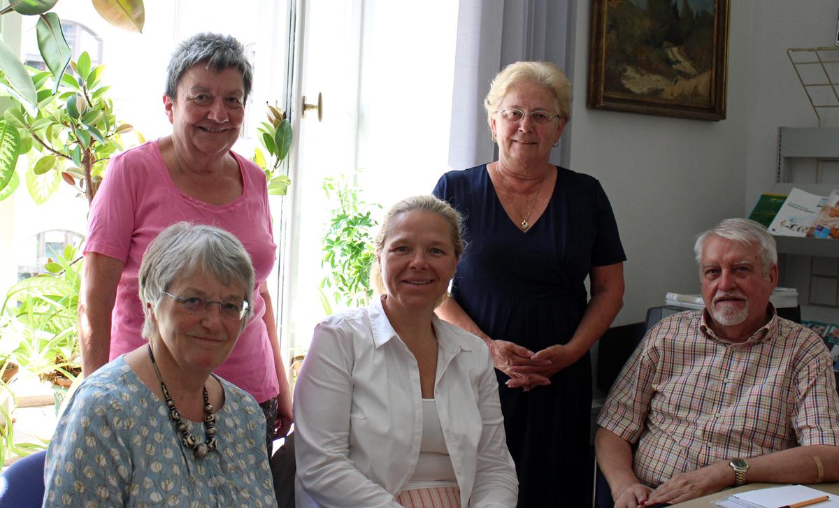 Doris Wagner mit dem Seniorenbeirat der Landeshauptstadt München