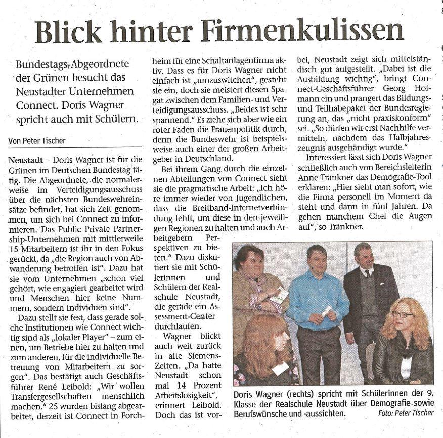Zeitungsartikel Passauer Neue Presse