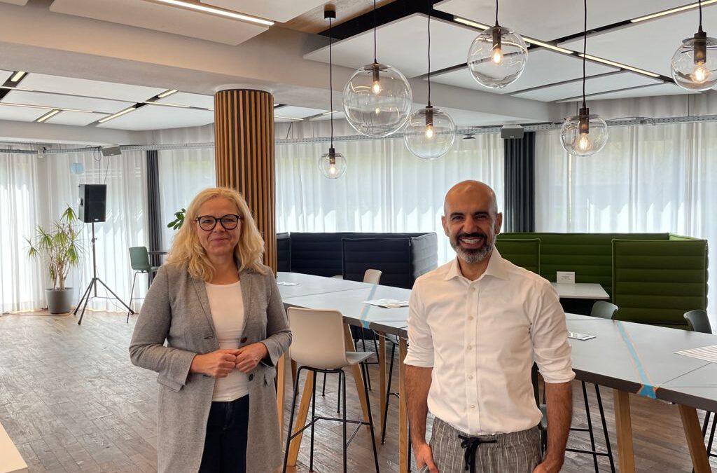 Vispiron – Unternehmenbesuch und Austausch mit CEO und Gründer Amir Roughani