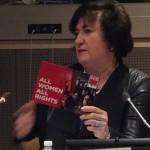 Teilnehmerin bei der Vorstellung von Women in Parliament