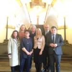 Im Rathaus mit den anderen DelegationsteilnehmerInnen