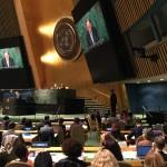 Eröffnung der Konferenz durch Ban Ki Moon