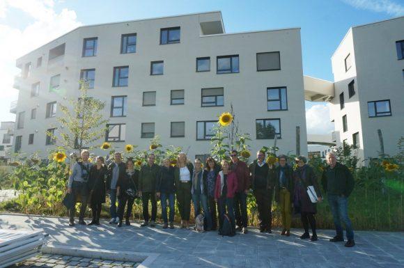 Besuch des Domagkparks, wagnisArt und dem Städtischen Atelierhaus